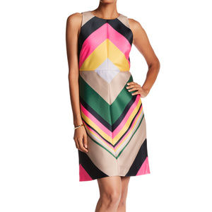 J CREW COLLECTION Pop Stripe sleeveless dress